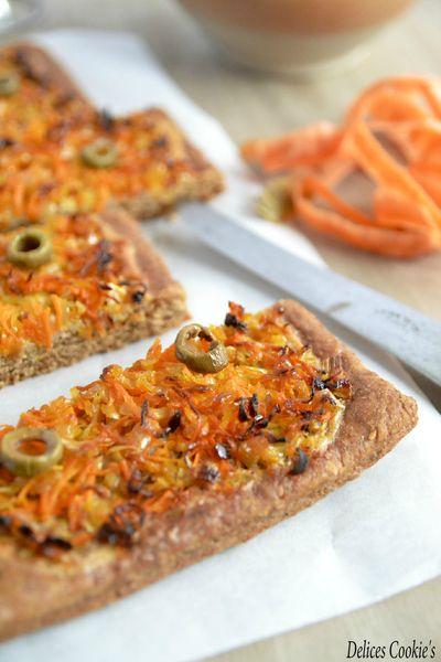 tarte pate brisee ig bas vegan muscade oignons carotte