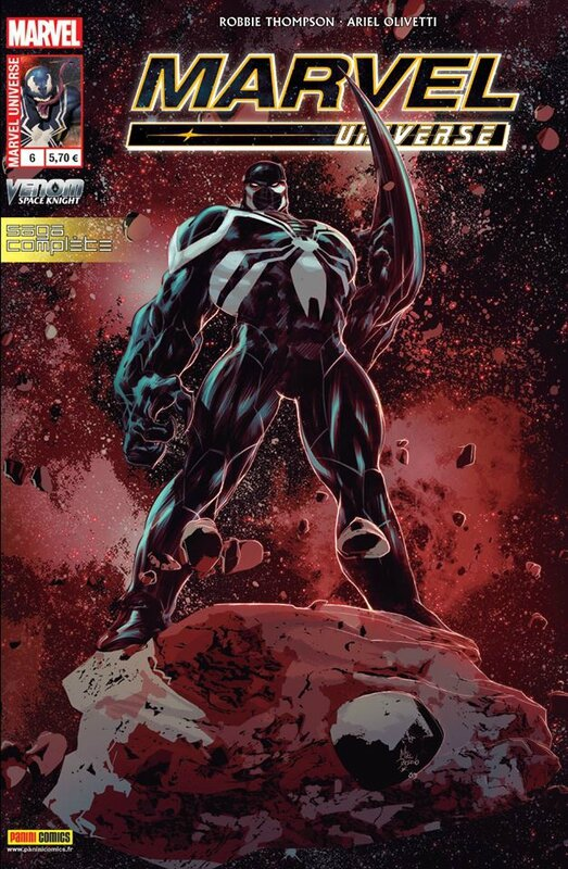 marvel universe V4 06 venom spaceknight
