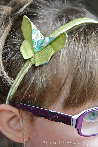 headband origamibutter betsy et jaune