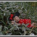 ...quel beau projet bébé miniature minnie