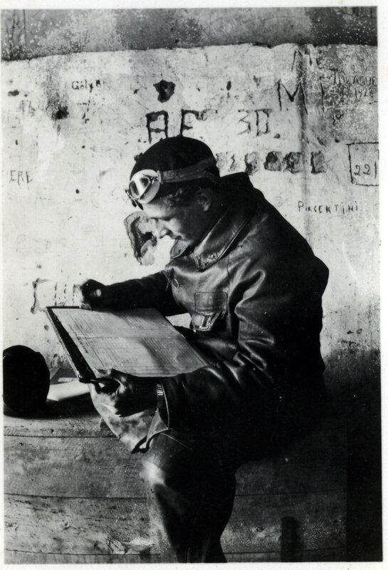 André Guérin préparant un vol 1 (1)