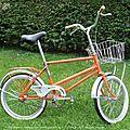 Wouack vintage bulldog bike!