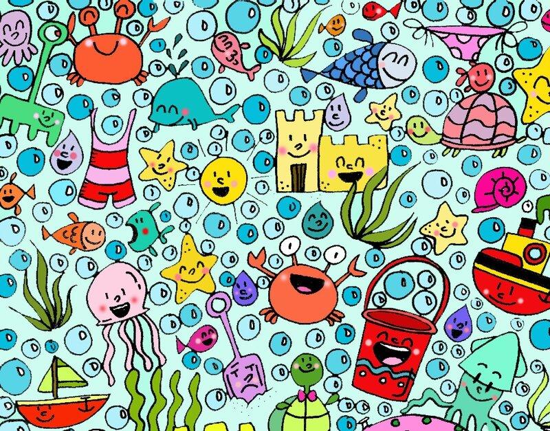 art thérapie coloriage