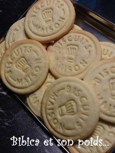 Petits sablés de July - Tampon Biscuits maison