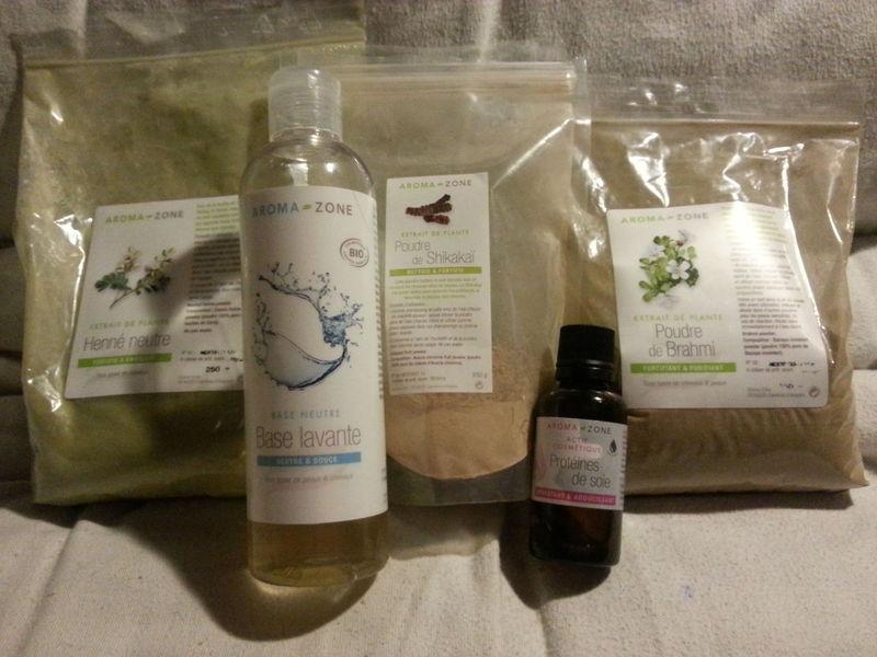 shampoing au shikakai belle au naturel gr ce aux produits aroma zone. Black Bedroom Furniture Sets. Home Design Ideas