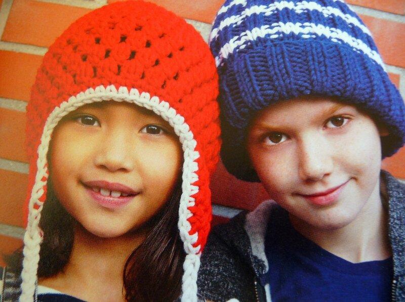 deux bonnets enfants