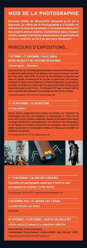 Dépliant exposition Les Suds, Lucien Clergue07 copie