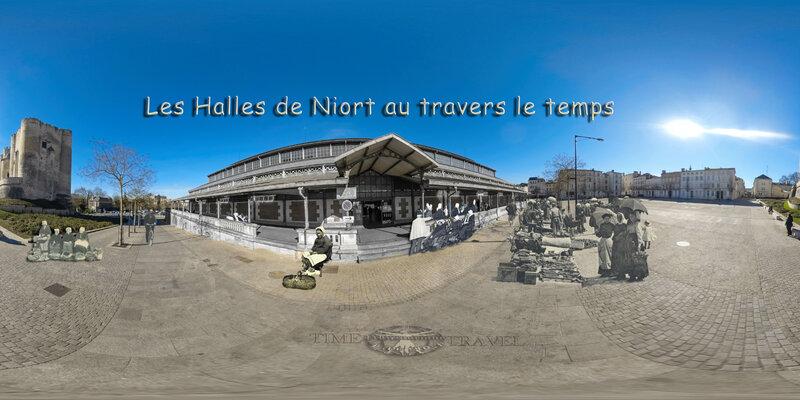 Les Halles de Niort au travers le temps
