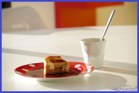 cheesecake coca