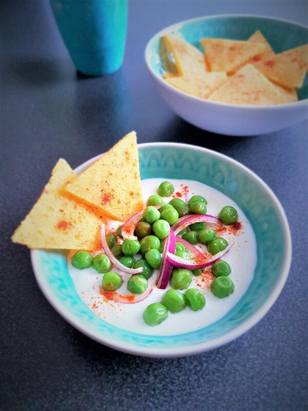 chez cathytutu cyril lignac tous en cuisine petit pois fromage blanc apéro entree (7)