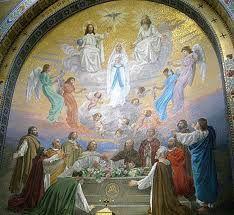 ASSOMPTION mosaïque de Lourdes