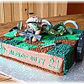 Call of duty cake Alexandre 21 ans