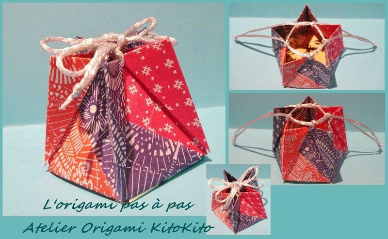 Atelier Origami KitoKito Sachet KINCHAKU