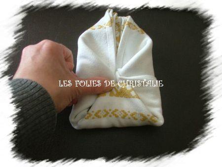 Pliage de serviette 14