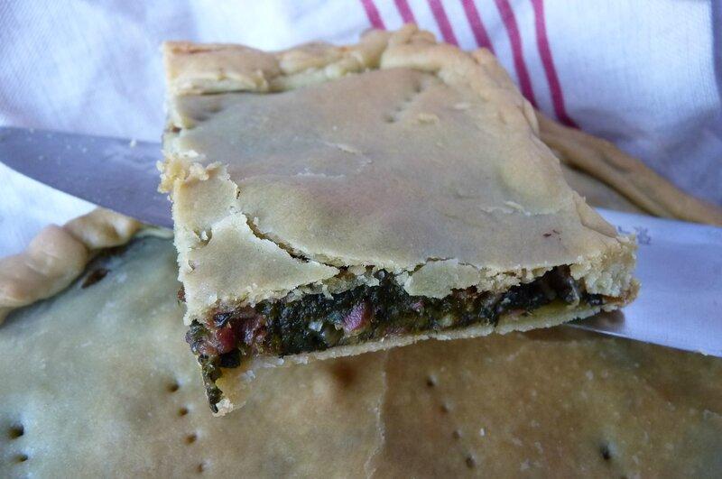 Erbazzone/tarte aux herbes