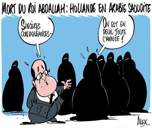 ps hollande humour arabie saoudite