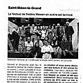 Article ouest france - 10 mars 2015