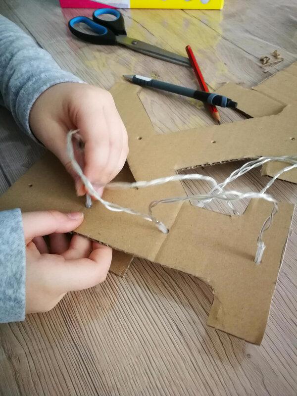 Réaliser une lettre lumineuse SES Créative