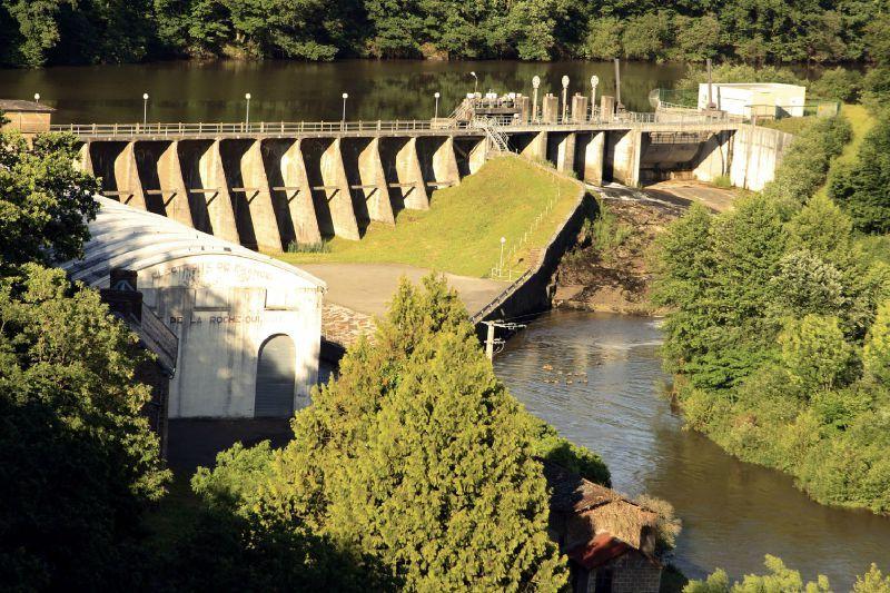 Barrage EDF Roche-qui-Boit 1