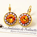 bijoux-mariage-soiree-temoin-cortege-boucles-d-oreilles-Aline-strass-rose-opal-et-cristal-orange-fire