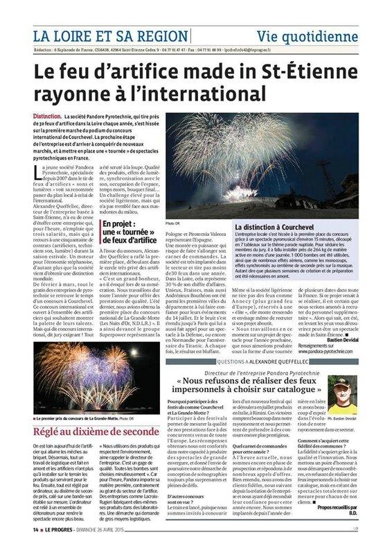 Article de presse saint-etienne