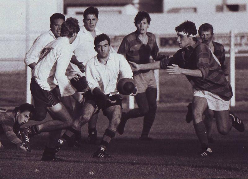 8 octobre 88, Juniors contre Saint-Méard