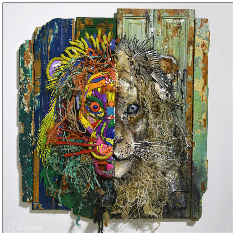 Paris_Bordalo_II_lion