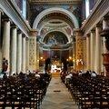 Sous la nef de Notre-Dame de Lorette.