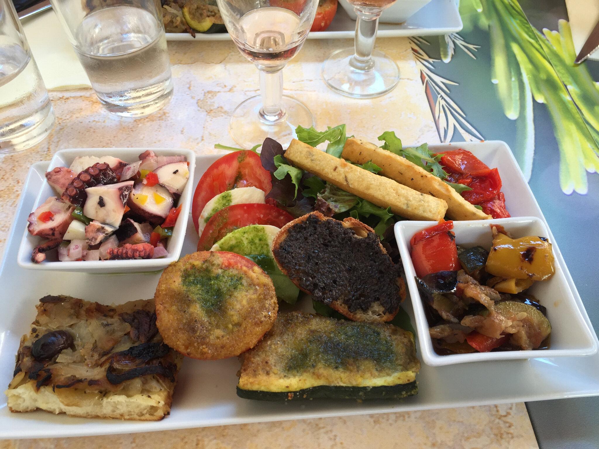 photos culinaires de Provence côte d'azur