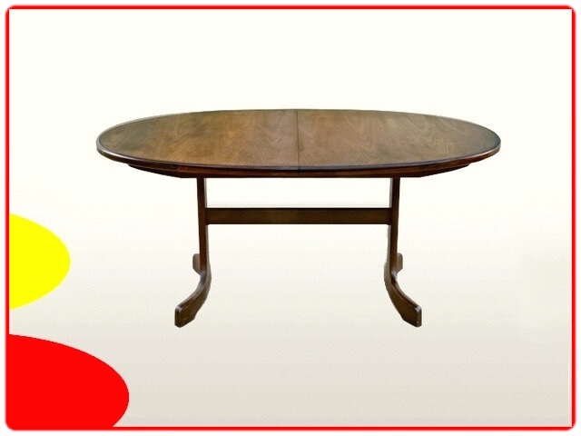 Table G-Plan vintage scandinave 1970 extensible