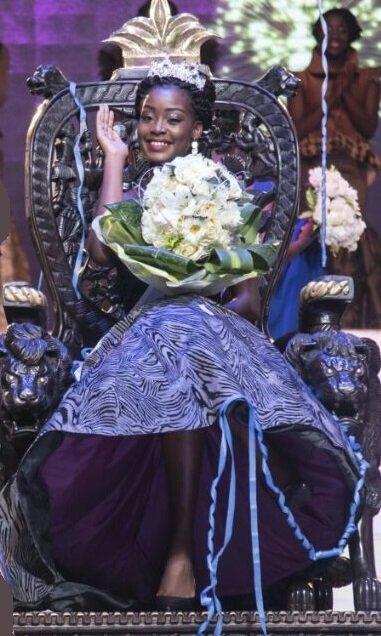 Audrey Fortuna Bieme sur son trône d'égérie Biopharma