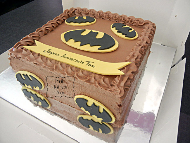 gateau batman prunille 3