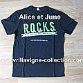 The Black Star Tour Product - R.O.C.K.S t-shirt/Avril Lavigne Fo