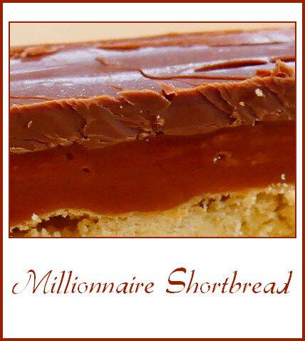 Millionnaire shortbread (sablé du millionnaire)