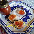 Confiture de prunes jaunes (susine)