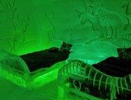 La Reine des Neiges - Une partie de l'équipe de production est parti étudier le rendu de la glace dans un ice hotel au Canada