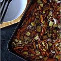 Légumes rôtis au four (version hivernale)