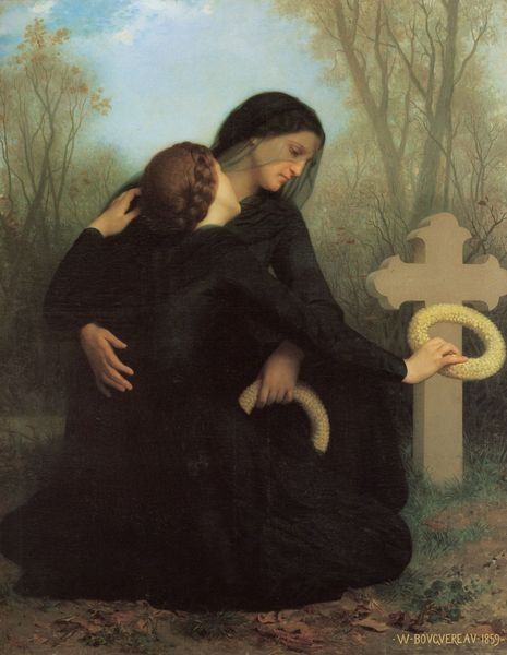 Le jour des morts de William Bouguereau - 1859