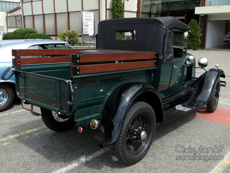 Ford model A roadster pickup 1928-1929-02