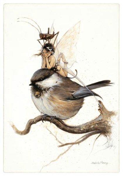 fee-et-mesange-sur-la-branche-de-jean-baptiste-monge-fees-et-oiseaux