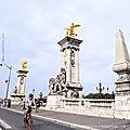 Pont Alexandre III Paris - Balade d'automne - Blog Marimerveille