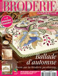 Broderie inspiration N°21