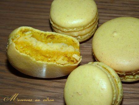 Macarons citron2