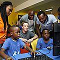 Nigéria : le patron de facebook pour une révolution technologique