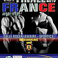 23 et 24 avril 2016 finale france afbbf-ifbb a gravelines