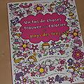 Un tas de choses à trouver et à colorier au pays des fées