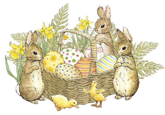 peter rabbit easter clipart