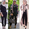 Genre vestimentaire: hijab mode 2017