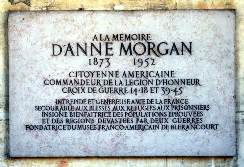 Mémoire Anne Morgan