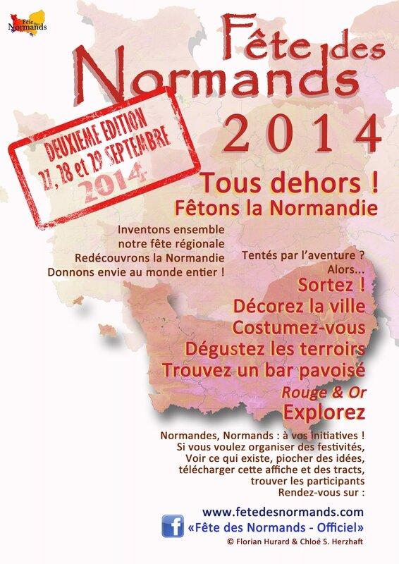 affiche-fete-des-normands-2014-lever-de-normandies-francais1
